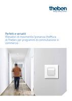 Brochure Rilevatori di movimento/presenza theMura