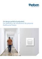 Brochure theMura détecteurs de mouvement/de présence