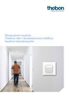 Thebenin liike-/läsnäolotunnistin theMura tavallisiin kalustesarjoihin