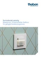 Broschüre: Formvollendet vielseitig - Präsenz-/Bewegungsmelder für theMura